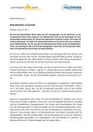Klimadetektive in Zermatt - Gornergrat Bahn