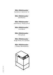 Mini-Weldmaster Mini-Weldmaster Mini-Weldmaster Mini ... - Kemper