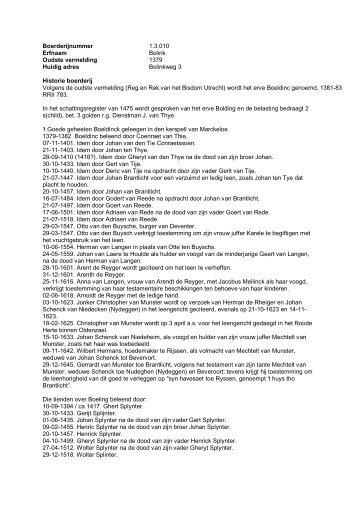 1.3.010 Boerderij Bolink, Bolinkweg 1 - De Hofmarken