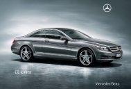 CL-класа - Mercedes-Benz Македонија