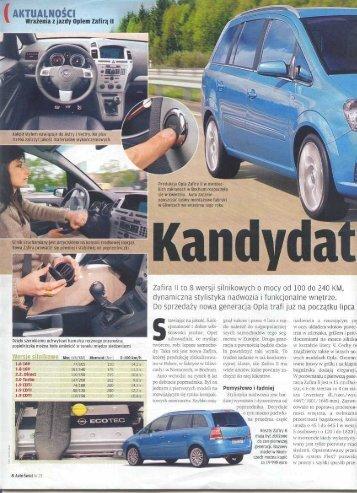 Kandydat na lidera. Aktualności. Wrażenia z jazdy ... - Opel Dixi-Car