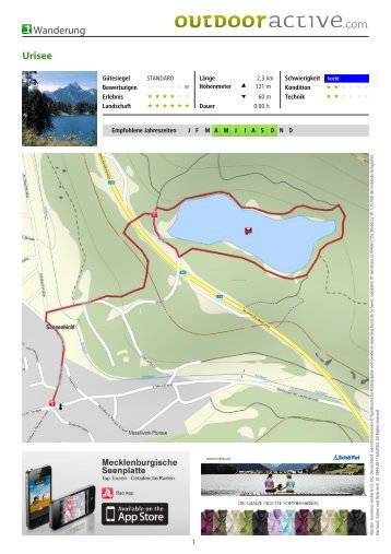 Wanderung Urisee - Lechtal-Reutte