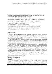 Increased Sensitivity and Position Accuracy - Hospital Gregorio ...