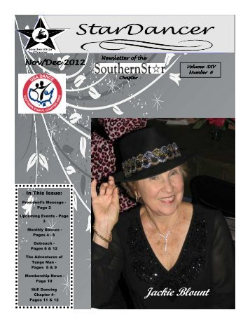 November/December 2012 Newsletter - SouthernStar Home