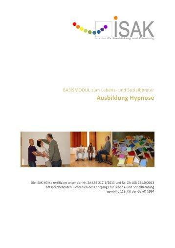 Curriculum Hypnose - Ausbildung Hypnose
