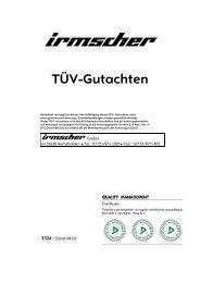 TÜV-Gutachten - Irmscher