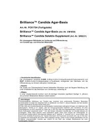 Brilliance™ Candida Agar-Basis - mibius