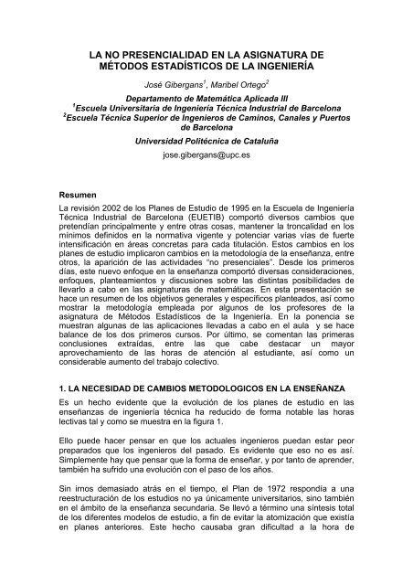 Plantilla Ejemplo De Formato De Ponencias Upc