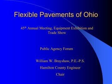 Flexible Pavements of Ohio - Hamilton County, Ohio