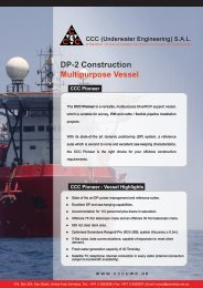 CCC Pioneer – DP-2 MSV Specifications (PDF Format)