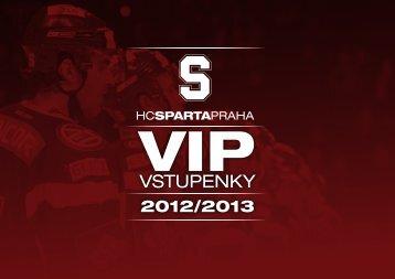 VSTUPENKY - HC Sparta Praha