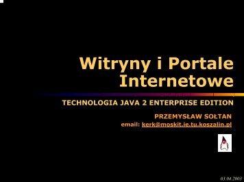 Witryny i Portale Internetowe - kik - Koszalin