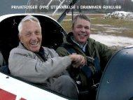 denne presentasjonen - Drammen Flyklubb