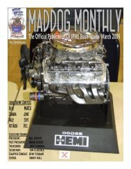 The Official Publication Of IPMS Boise, Idaho March 2009
