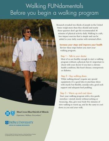 Walking FUNdamentals