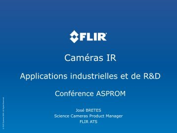 applications industrielles et R&D - Asprom