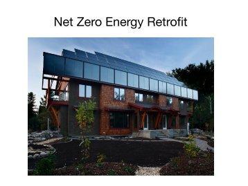 Net Zero Energy Retrofit