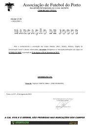 circular nº.23 - Associação de Futebol do Porto