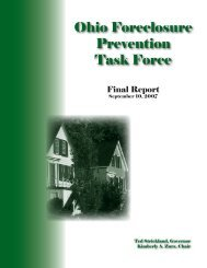 Ohio Foreclosure Prevention Task Force - Ohio Housing Finance ...