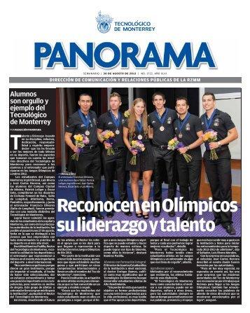 Reconocen en Olímpicos su liderazgo y talento - Campus Monterrey ...