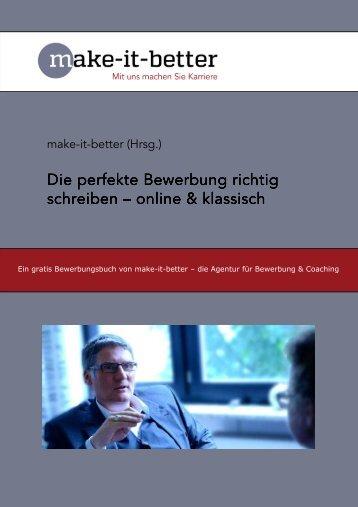Die perfekte Bewerbung richtig schreiben – online & klassisch