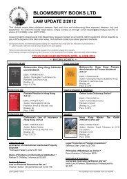 BLOOMSBURY BOOKS LTD