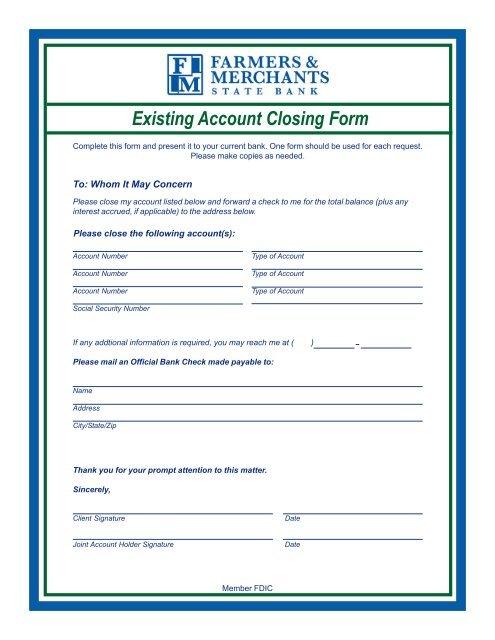 Switch Kit p65 - Farmers & Merchants State Bank