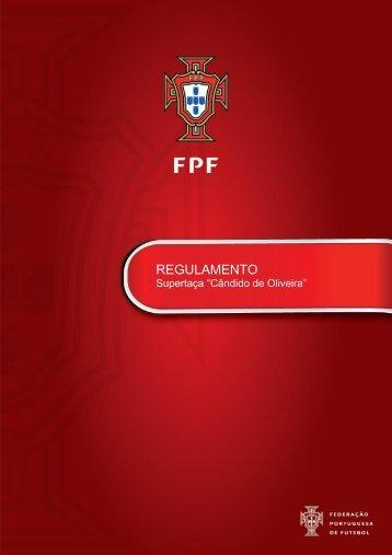 """regulamento supertaça """"cândido oliveira"""" - Associação de Futebol ..."""