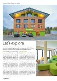Explorer Hotel, Fischen im Allgäu - Hotelstyle