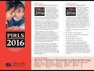 Pirls 2016 - TIMSS and PIRLS Home - Boston College