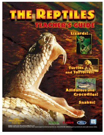 The Reptiles - International Zoo Educators Association