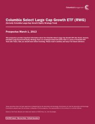 formerly Columbia Large-Cap Growth Equity Strategy Fund