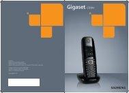 Gigaset C59 manual svenska - Talk telecom