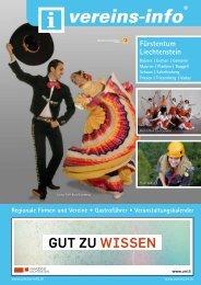 GUT ZU WISSEN - Vereins-info