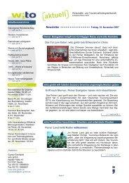 Newsletter 5.pub - Wirtschafts- und Tourismusfördergesellschaft ...