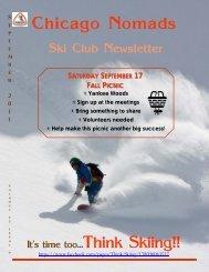 September 2011 newsletter.pub - Chicago Nomads Ski Club