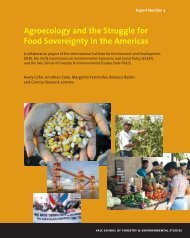 Agroecology and the Struggle for Food Sovereignty ... - Yale University