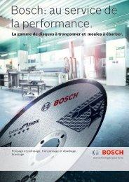 Bosch: au service de la performance.