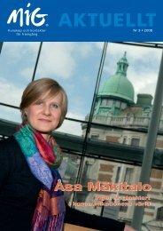 Åsa Mäkitalo - MiG
