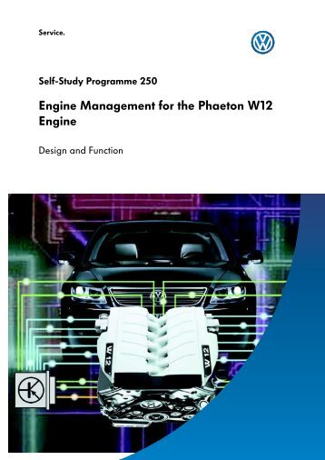 250 - VW Phaeton W12 - Engine Management - VolksPage.Net