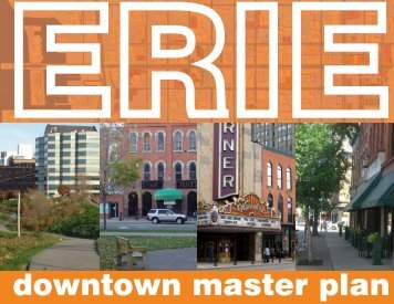 downtown master plan - City of Erie