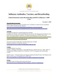 Influenza Antibodies, Vaccines, and Breastfeeding - Borstvoeding.com