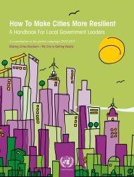 How To Make Cities More Resilient - UCLG