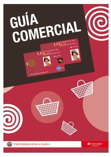 Guía comercial del Carné Universitario - Universidad de Salamanca
