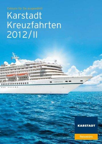 Karstadt Kreuzfahrten 2012/II