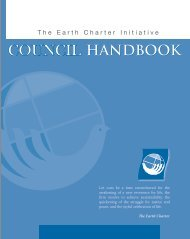 COUNCIL - Earth Charter Initiative