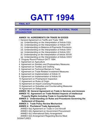 Gatt 1994