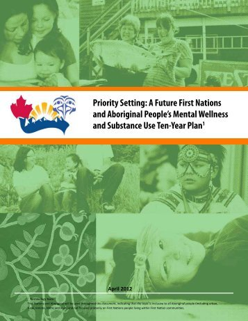 Priority Setting: A Future First Nations and Aboriginal People's ...