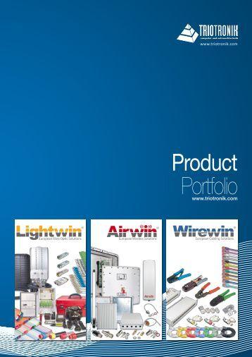 PDF Catalogue - TRIOTRONIK Computer und Netzwerktechnik