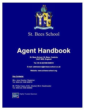 Agent Handbook - St Bees School